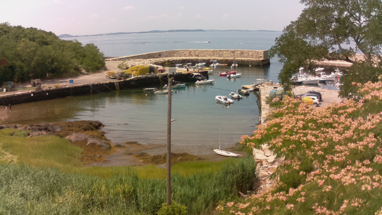 Lanesville Harbor, Gloucester, MA. looking WEST